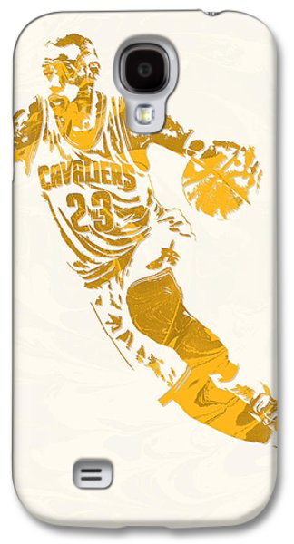 Lebron James Cleveland Cavaliers Pixel Art 10 Galaxy S4 Case