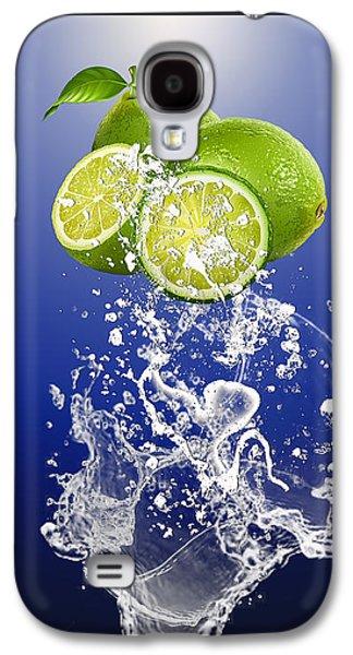 Lime Splash Galaxy S4 Case