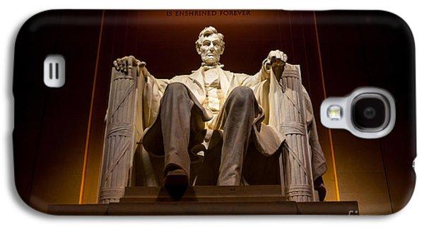 Lincoln Memorial At Night - Washington D.c. Galaxy S4 Case