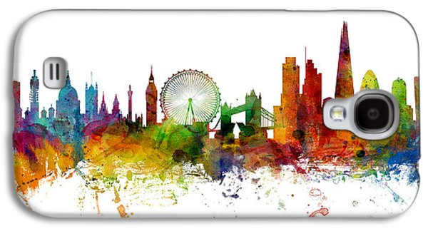 London England Skyline Panoramic Galaxy S4 Case by Michael Tompsett