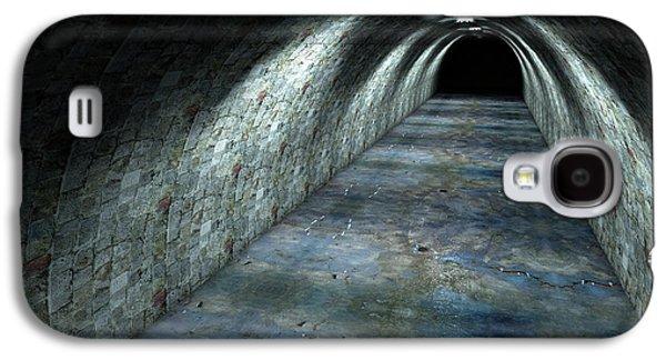 Long Tunnel Lights Galaxy S4 Case by Allan Swart