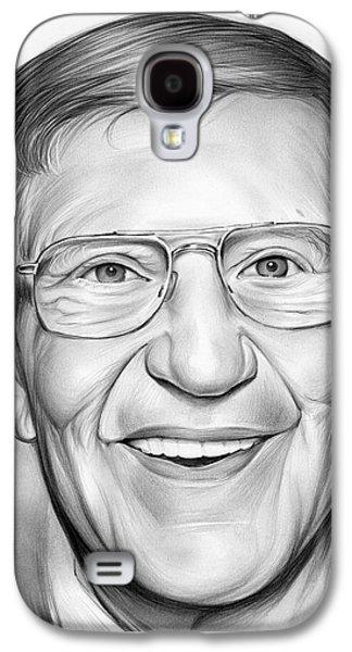Lou Holtz Galaxy S4 Case by Greg Joens