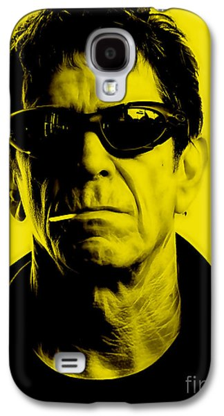 Lou Reed Collection Galaxy S4 Case by Marvin Blaine