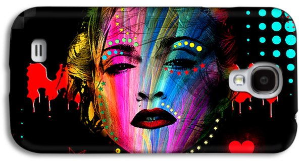 Madonna Galaxy S4 Case by Mark Ashkenazi