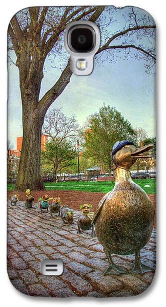 Make Way For Ducklings - Boston Galaxy S4 Case