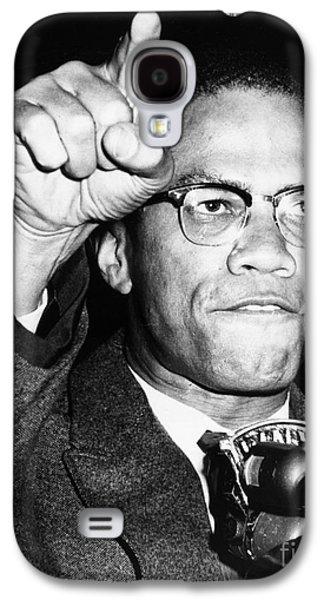 Malcolm X (1925-1965) Galaxy S4 Case