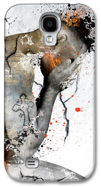 Male Nude  Galaxy S4 Case by Mark Ashkenazi