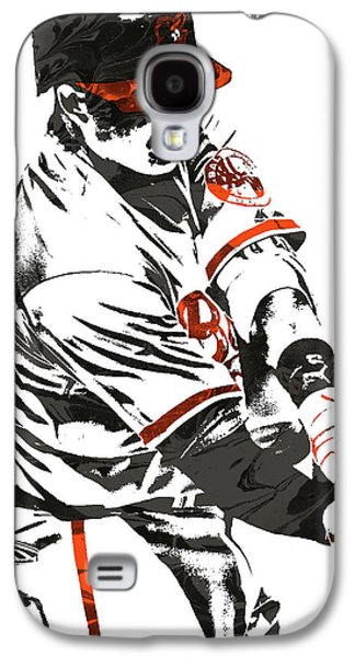 Manny Machado Baltimore Orioles Pixel Art Galaxy S4 Case
