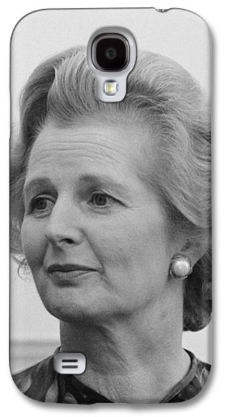 Margaret Thatcher Galaxy S4 Case by War Is Hell Store