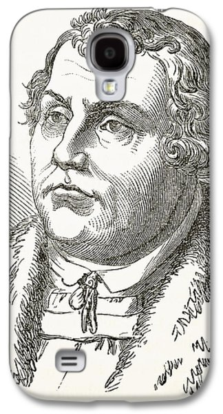 Martin Luther Galaxy S4 Case by English School