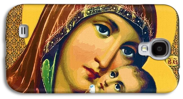 Mary And Child Galaxy S4 Case by Christian Art