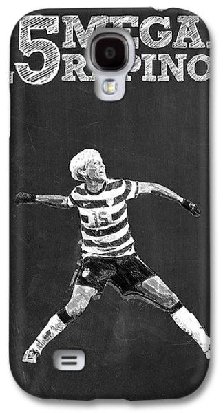 Megan Rapinoe Galaxy S4 Case by Semih Yurdabak