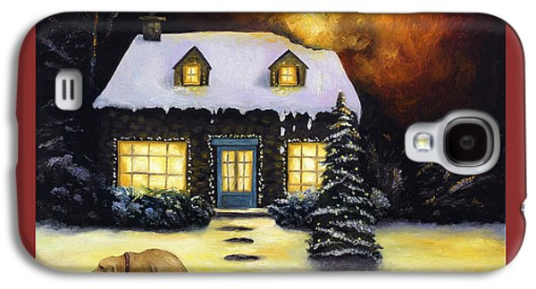 Merry Fricken Christmas  Galaxy S4 Case by Leah Saulnier The Painting Maniac