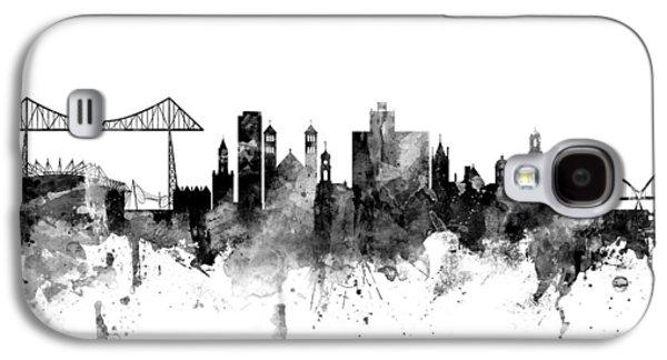 Middlesbrough England Skyline Galaxy S4 Case by Michael Tompsett