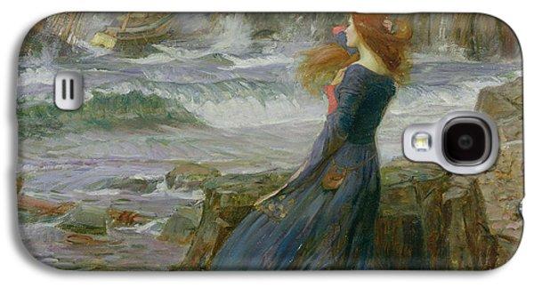 Miranda Galaxy S4 Case by John William Waterhouse