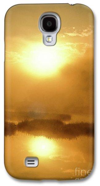 Misty Gold Galaxy S4 Case by Tatsuya Atarashi