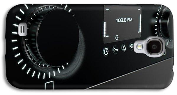 Modern Radio Face Galaxy S4 Case by Allan Swart