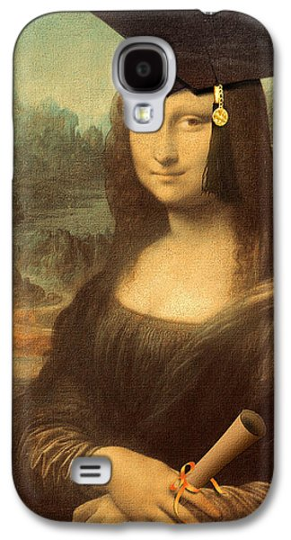 Mona Lisa  Graduation Day Galaxy S4 Case by Gravityx9  Designs