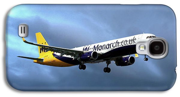Monarch Airlines Airbus A321-231 Galaxy S4 Case