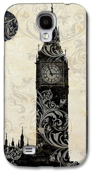 Moon Over London Galaxy S4 Case by Mindy Sommers