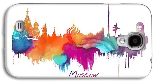 Moscow  Galaxy S4 Case by Justyna JBJart