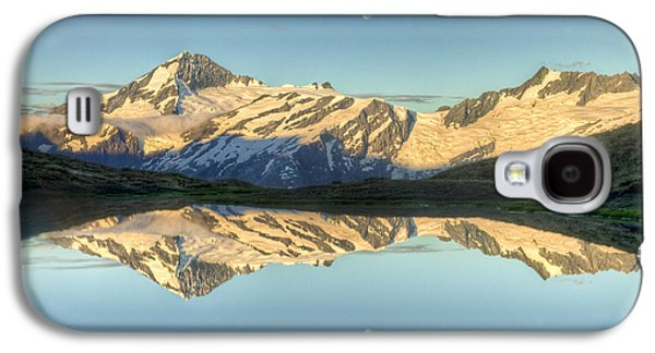Mountain Photographs Galaxy S4 Cases - Mount Aspiring Moonrise Over Cascade Galaxy S4 Case by Colin Monteath