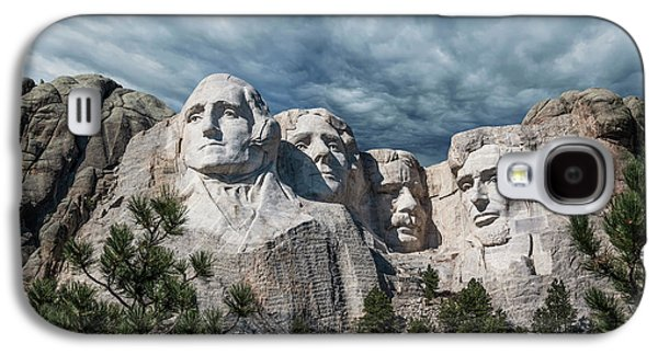 Mount Rushmore II Galaxy S4 Case by Tom Mc Nemar