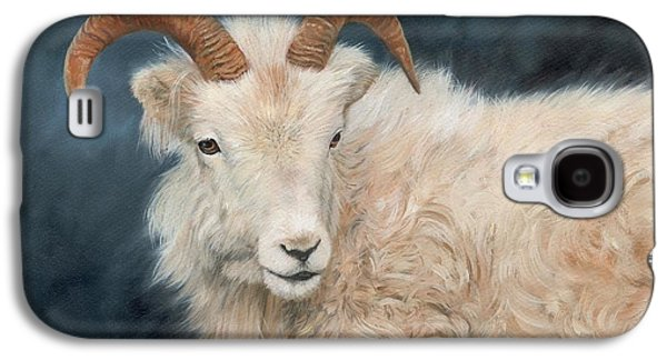 Mountain Goat Galaxy S4 Case by David Stribbling