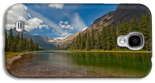 Moutain Lake Galaxy S4 Case by Sebastian Musial