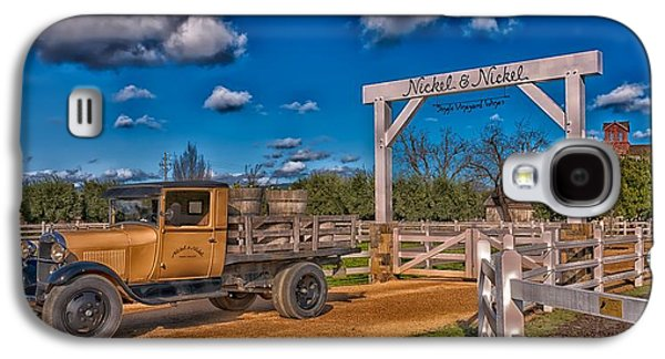Napa Valley Winery Entrance Galaxy S4 Case by Mountain Dreams
