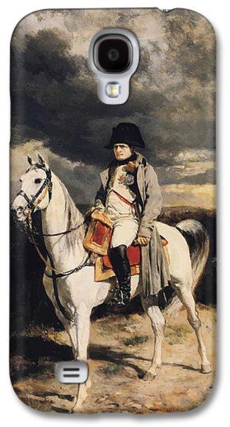 Emperor Galaxy S4 Cases - Napoleon Bonaparte On Horseback Galaxy S4 Case by War Is Hell Store