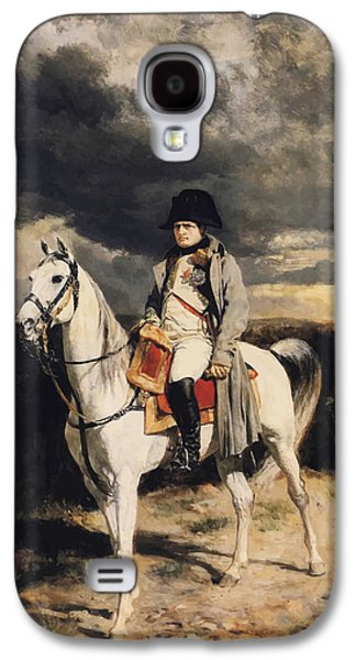 Napoleon Bonaparte On Horseback Galaxy S4 Case by War Is Hell Store