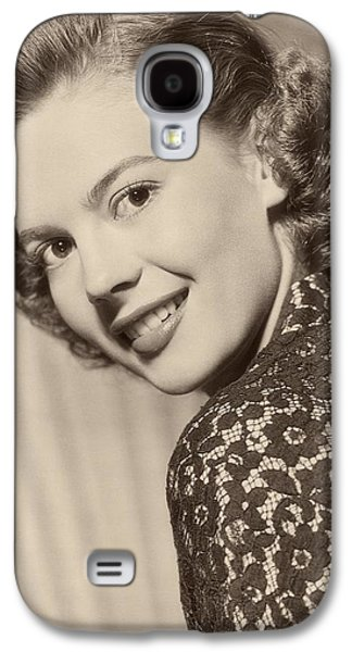1955 Movies Photographs Galaxy S4 Cases - Natalie Wood In Rebel Without A Cause 1955 Galaxy S4 Case by Warner Brothers