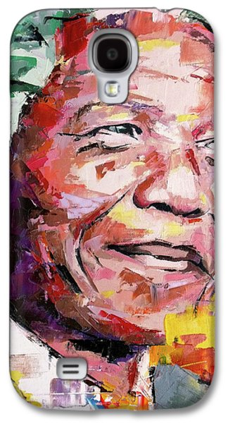 Nelson Mandela Galaxy S4 Case by Richard Day