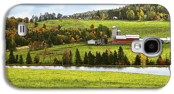 New England Farm Galaxy S4 Case by Betty LaRue