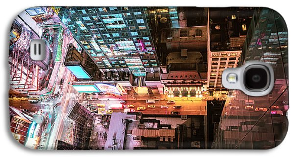 New York City - Night Galaxy S4 Case