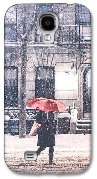 New York City Snow Galaxy S4 Case