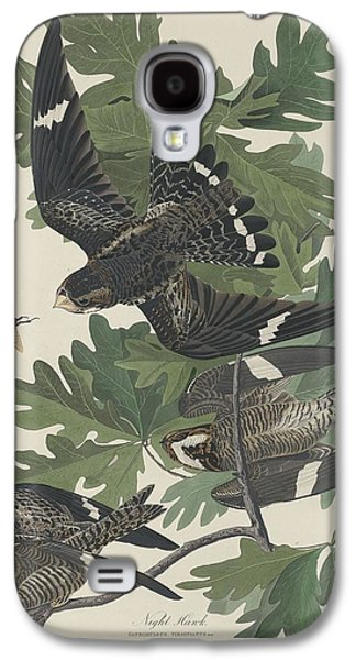 Night Hawk Galaxy S4 Case by Dreyer Wildlife Print Collections