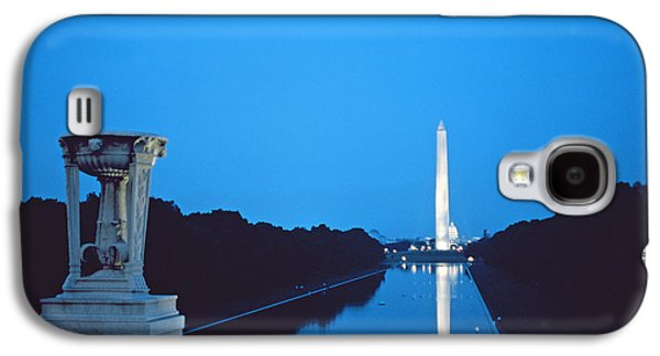 Night View Of The Washington Monument Across The National Mall Galaxy S4 Case