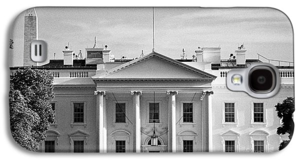 Whitehouse Galaxy S4 Case - north facade from pennsylvania avenue the white house with washington monument in the background Was by Joe Fox