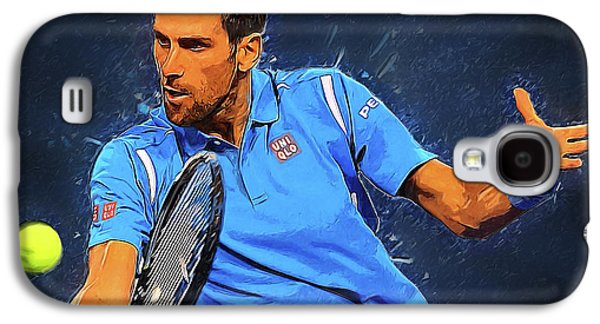 Serena Williams Galaxy S4 Case - Novak Djokovic by Semih Yurdabak