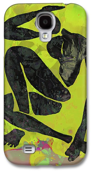 Nude Pop Art Poster Galaxy S4 Case by Kim Wang