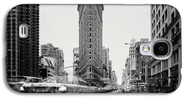 Nyc Flat Iron Galaxy S4 Case by Nina Papiorek
