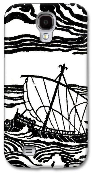 Odysseus's Ship Galaxy S4 Case by Newell Convers Wyeth