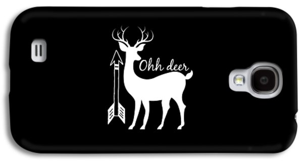 Ohh Deer Galaxy S4 Case by Chastity Hoff