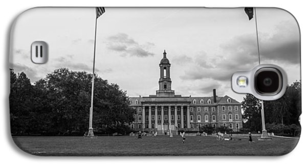 Old Main Penn State Black And White  Galaxy S4 Case by John McGraw