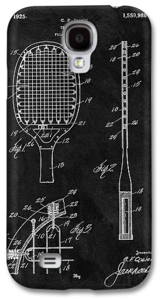 Old Tennis Racket Patent Galaxy S4 Case