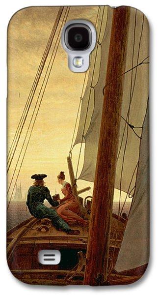 On A Sailing Ship Galaxy S4 Case