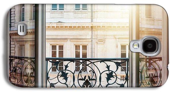Open Window In Toulouse Galaxy S4 Case by Elena Elisseeva