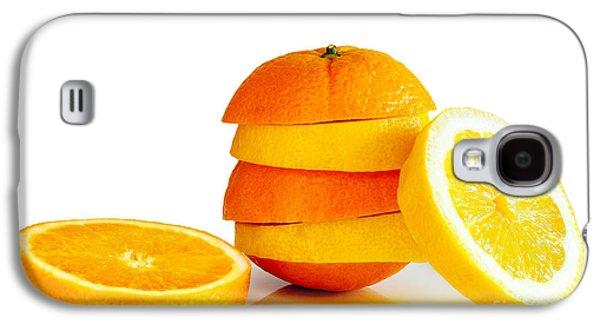 Oranje Lemon Galaxy S4 Case by Carlos Caetano